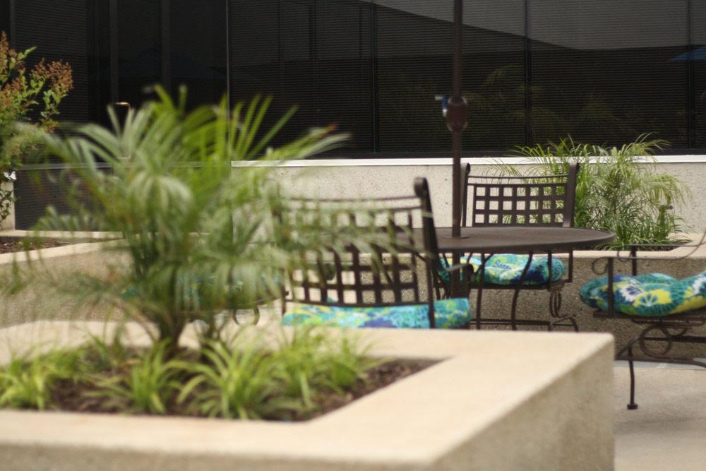Outdoor Atrium